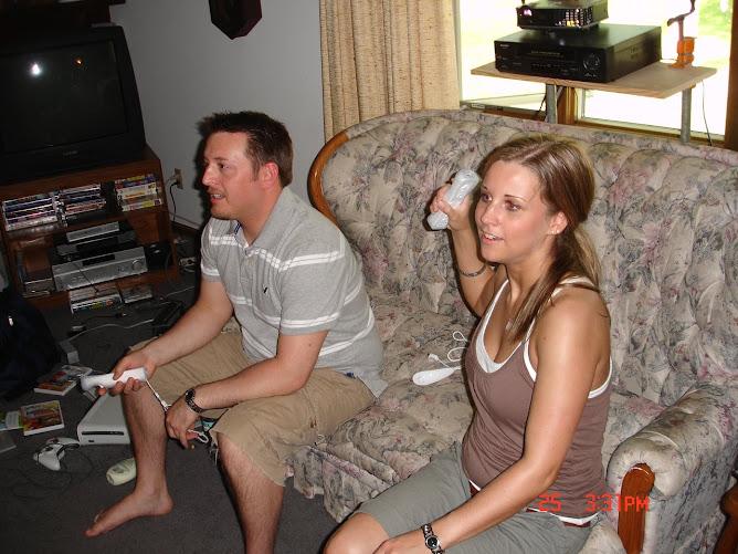 John, Nicole & the Wii