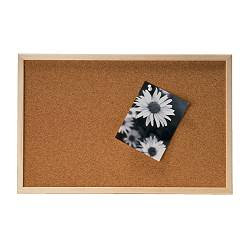 Pretty practical diy fridays framed corkboard for Ikea cork board