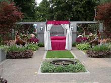 En av utställningsträdgårdarna