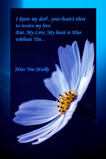 right miss you ecard Miss You Card Life is Blue Without You Valentine's Day germs missing your love