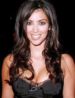 28 years old Kim Kardashian is an American stylist
