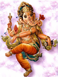 """Mantra : om gam ganapatayei namaha """"om saudações aquele que remove os obstáculos!"""