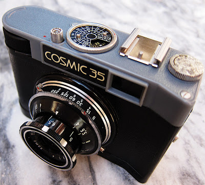 Cosmic 35 camera. Photograph by Tim Irving