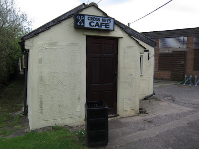 Cross Keys Cafe. photograph by Tim Irving