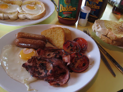 Full English Breakfast. Photograph by Tim Irving