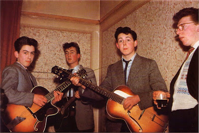 Early Beatles. Photographer Unknown