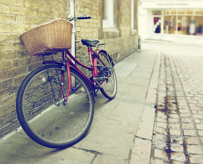 Bicycle, Cambridge. Photograph by Tim Irving