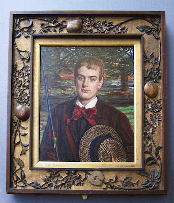 Holman Hunt frame. Photograph by Tim Irving