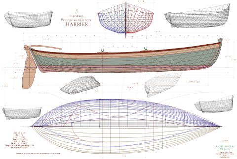 How to build a wooden fishing boat