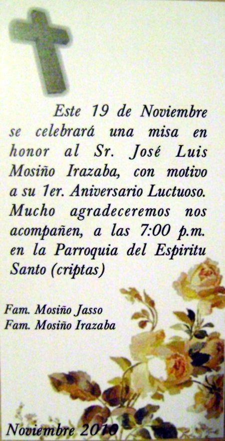 Tarjetas de recordatorio para difuntos - es.pinterest.com