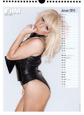 fhm calendar 2010 - 02