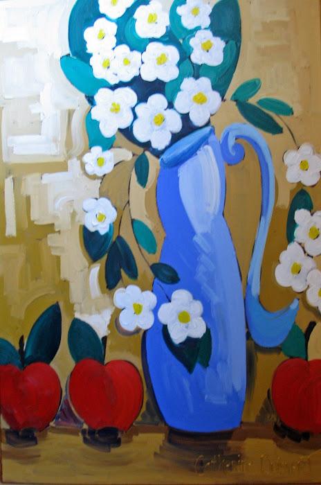 Joyeuses marguerites 24 x 36_Atelier Normand Boisvert