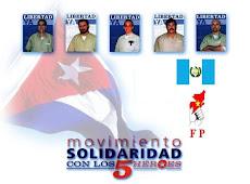 La libertad de los 5 héroes cubanos está en manos de Obama