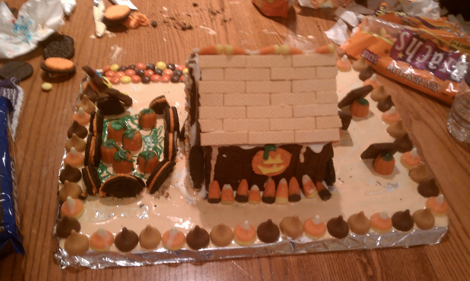 side(nice view of the pumpkin patch and the chimney):