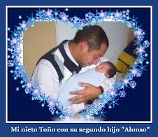 """Mi nieto Toño y mi bisnieto """"Alonso"""""""