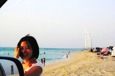 Dubai ~第四章(完结篇) Madinat Jumeirah, 7 Star Hotel-Burj al Arab at night, Punjabi & Mughlai Cruisine, 幕后花絮