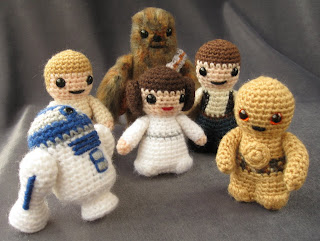 Amigurumi Star Wars Patterns : Lucyravenscar crochet creatures: star wars mini amigurumi