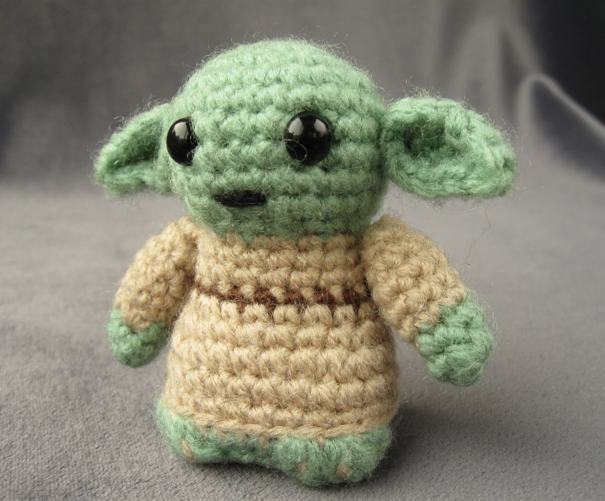 Crochet Yoda Pattern : LucyRavenscar - Crochet Creatures: My patterns for sale on Etsy