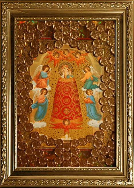 """Ты - Царица Ангелов и спасение людей...  Молитва читаемая пред иконой Божией Матери  """"Прибавление ума """" ."""
