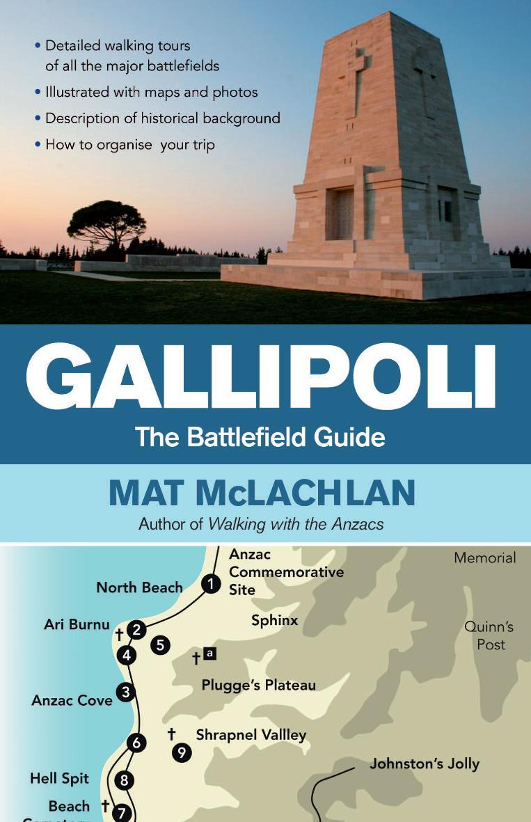 Gallipoli  The Battlefield Guide Mat Mclachlan Hachette Australia   Nz$3499