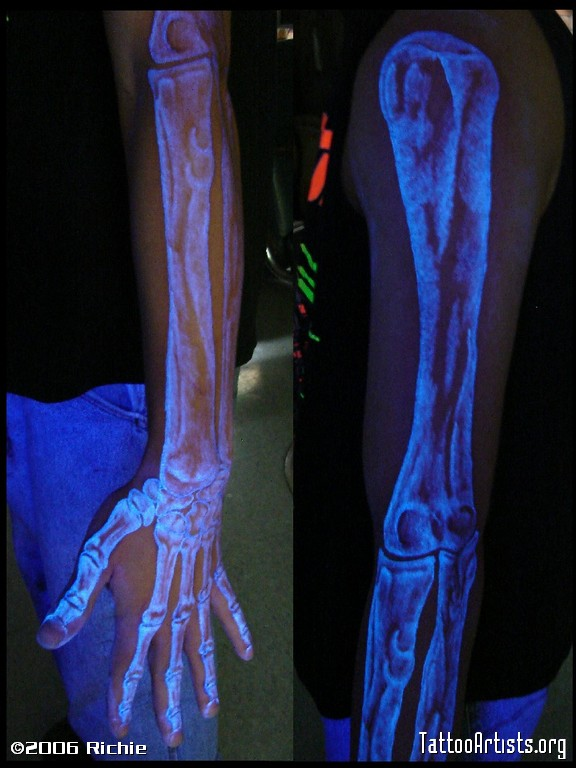 skin candy black light tattoo ink. homemade tattoo ink recipe starbrite