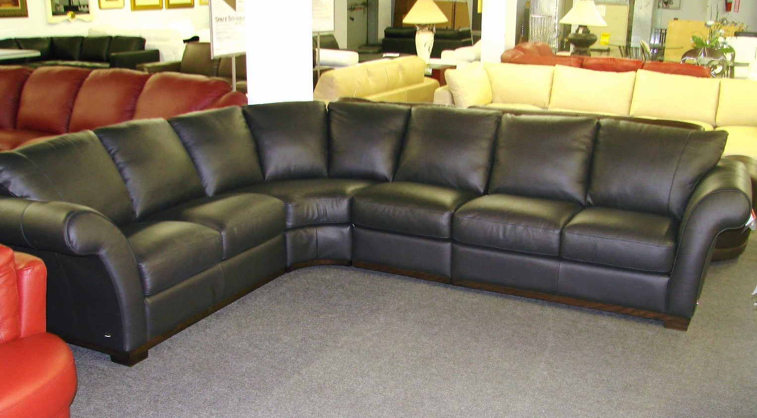 Amazing 30 leather sectional couches for sale sectional for Sectionals for sale