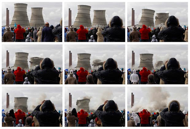 Cape Town's landmark Athlone cooling towers are demolished