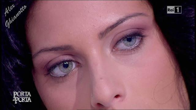 Miss Italia 2010, Francesca Testasecca è stata ospite alla trasmissione di Raiuno, Porta a Porta