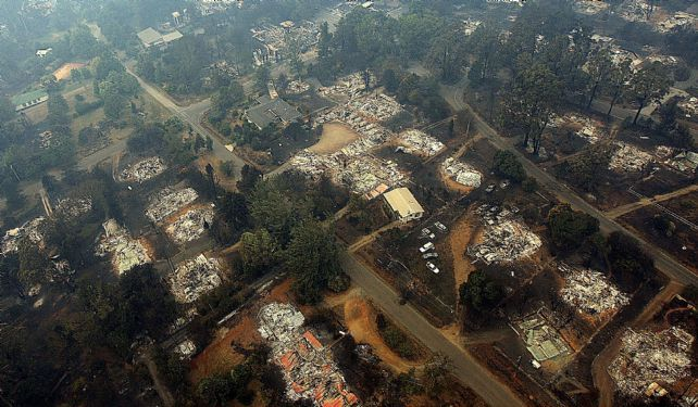 Marysville Australia  city images : 2009 victorian bushfires map