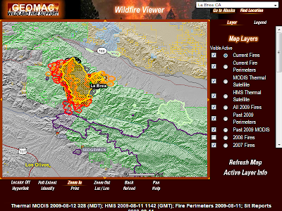 Zaca Fire Map | Firefighter Blog