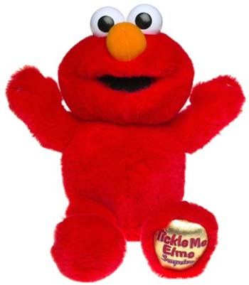 Tickle Me Elmo Costume Adults