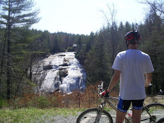 waterfall mountain bike tour