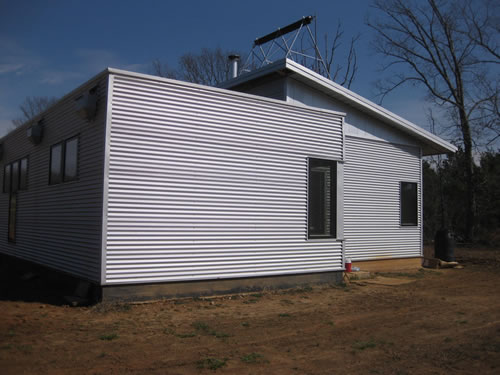 Green modern kits prefab house project news prefab for Passive solar prefab homes