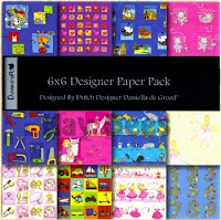 Dovecraft designer paper - kids