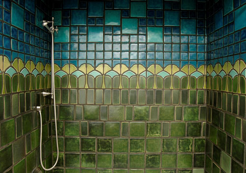 Patrick j baglino jr interior design the arts crafts - Arts and crafts style bathroom design ...