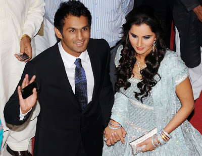 Sania Mirza Shoaib Malik Wedding Reception Picture Gallery