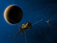 Artist's concept of Cassini's