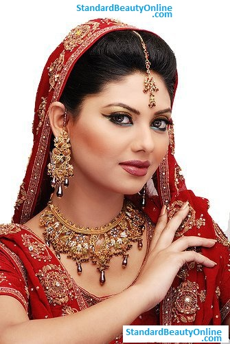 Traditional Red Indian Bridal Dresses