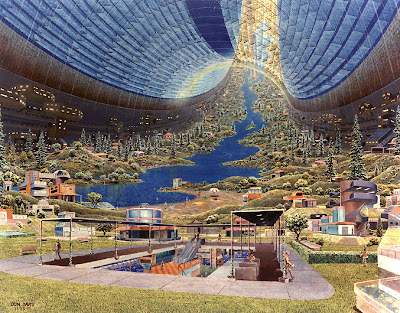 Space Colonies - Stanford Torus