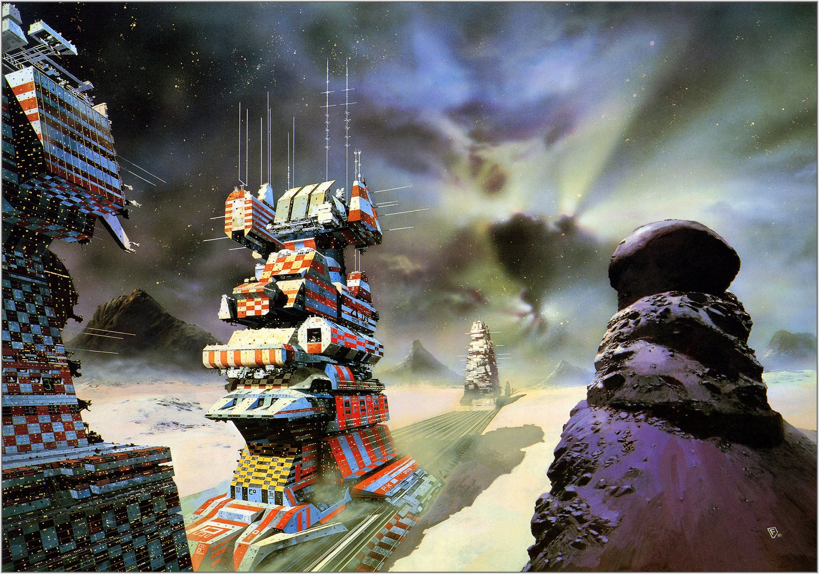 Copyright by Chris Foss