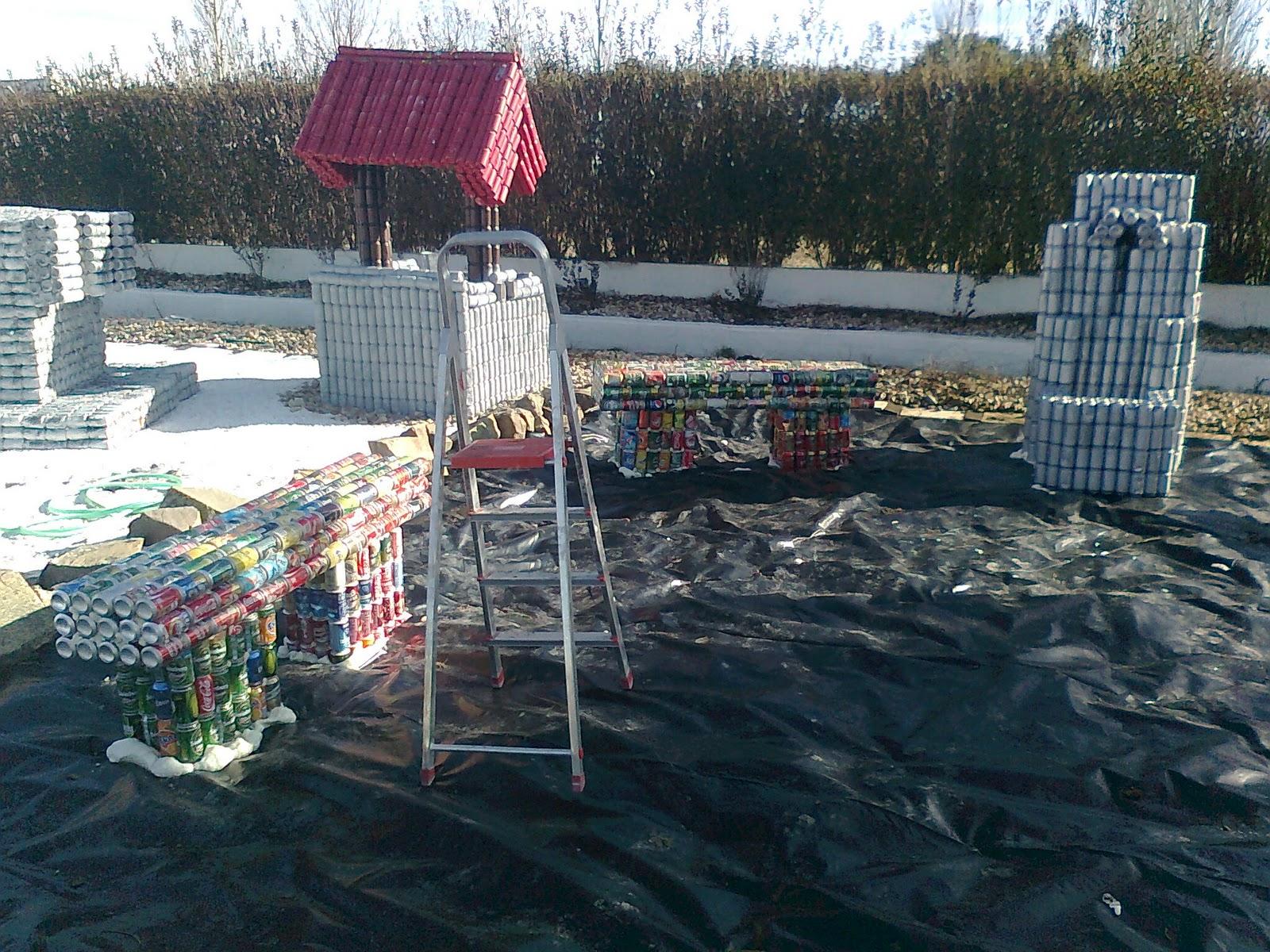 Arte en lata ramirin jardin del buda terminado for Jardines en lata