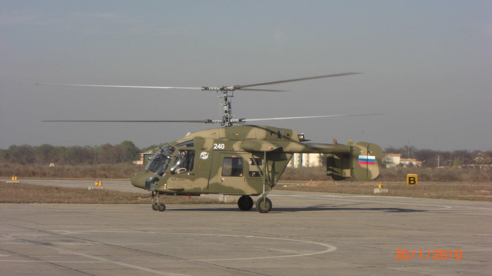 Достигнута договоренность о производстве вертолета Ка-226Т в Индии