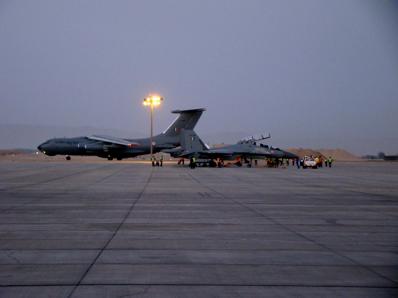 Istres France  city pictures gallery : ... Istres Air Base, France for Indo French Exercise 'GARUDA'. 718754
