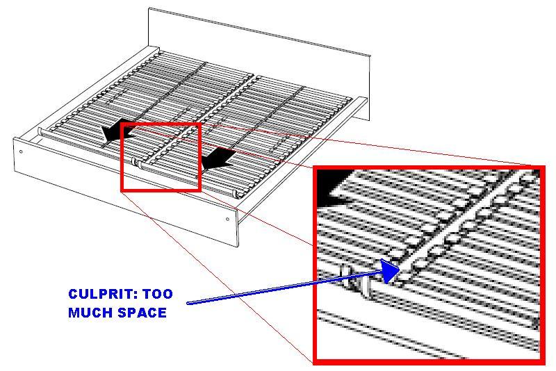 Ikea Bed Frame Slats Fall Through