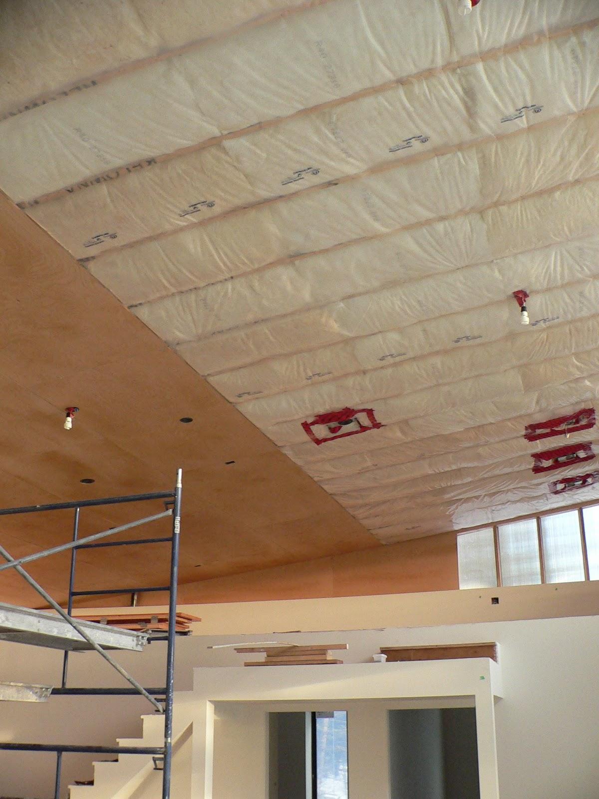 Как сделать потолок из фанеры своими руками 96