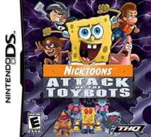 Nicktoons: Attack of the Toybots (USA)