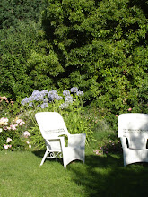 Ahhhh...to relax in the garden.  Ha!  Probably sat in them twice!  Gardening is obviously a verb..