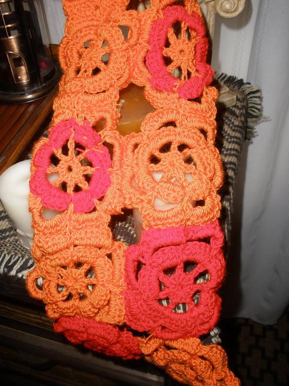 bufanda al crochet