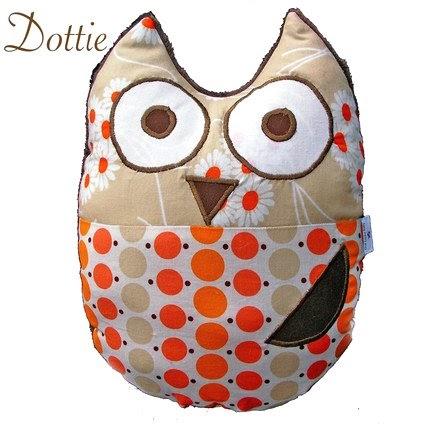 Art Lure: Cute Owl Character Pillows