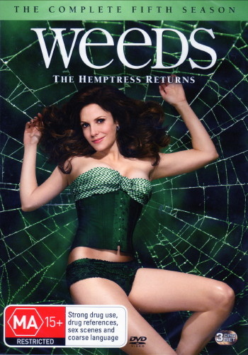 weeds season 3 dvd cover. weeds season 5 dvd cover.